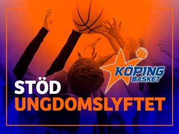 Köping Basket – Stöd Ungdomslyftet
